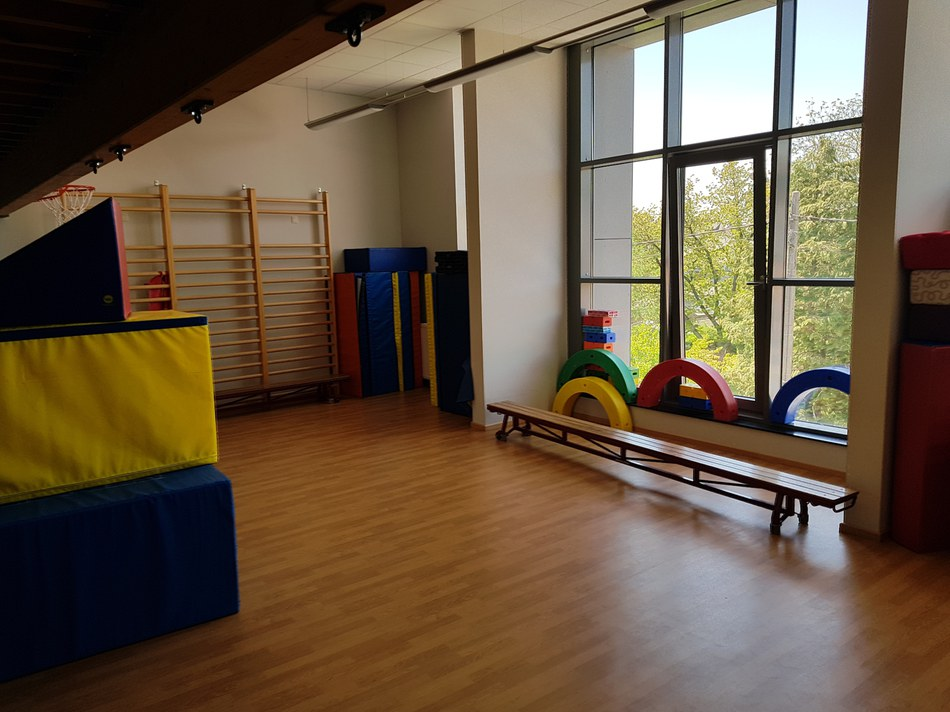 Salle de psychomotricité