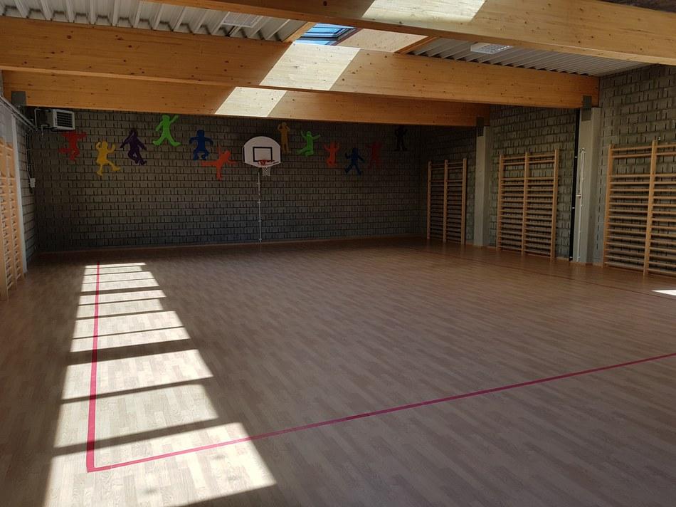 Salle de gymnastique - sports collectifs